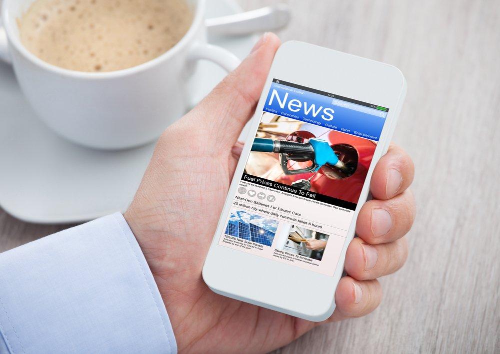 notizie sullo smartphone